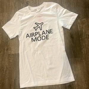 sku12156 | Airplane Mode Graphic Tee