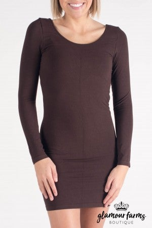 Ahh-mazing Long Sleeve Dress Shaper