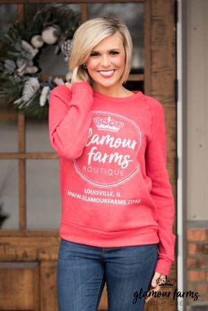 Glamour Farms Logo Sweatshirt