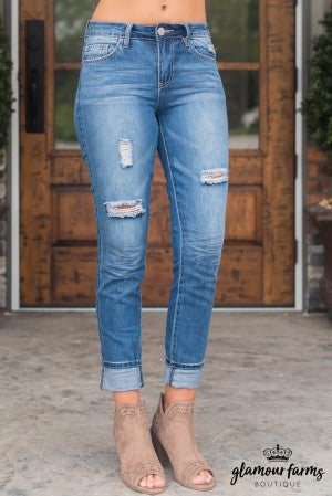 Chelsea's Mid-Rise Skinny Jean