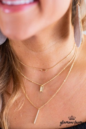 sku11491 | Triple Layered Necklace