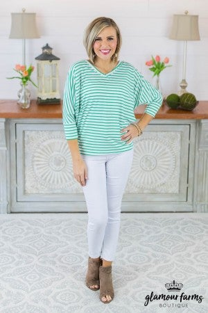 Waiting In Line Dolman Top