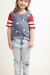 Born to Be Free Girls Top
