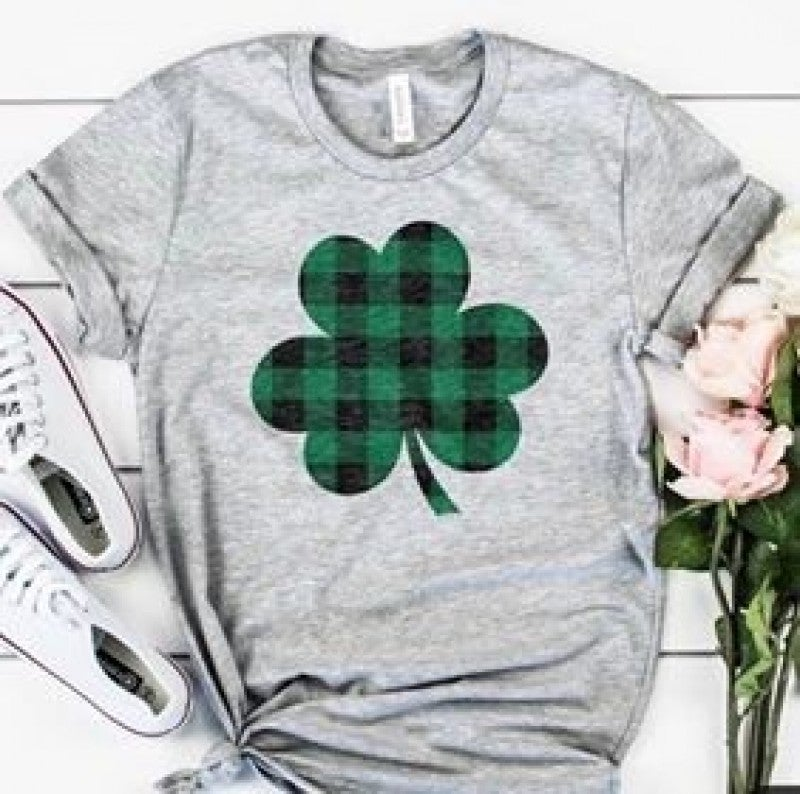 Plaid Clover Shirt