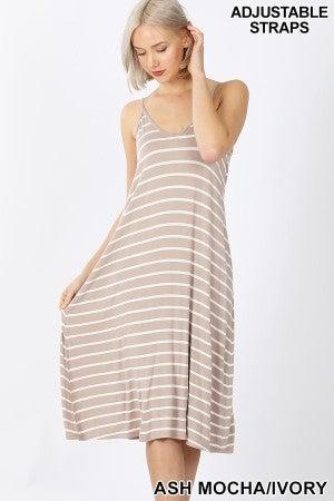 Simple Stripe Dress