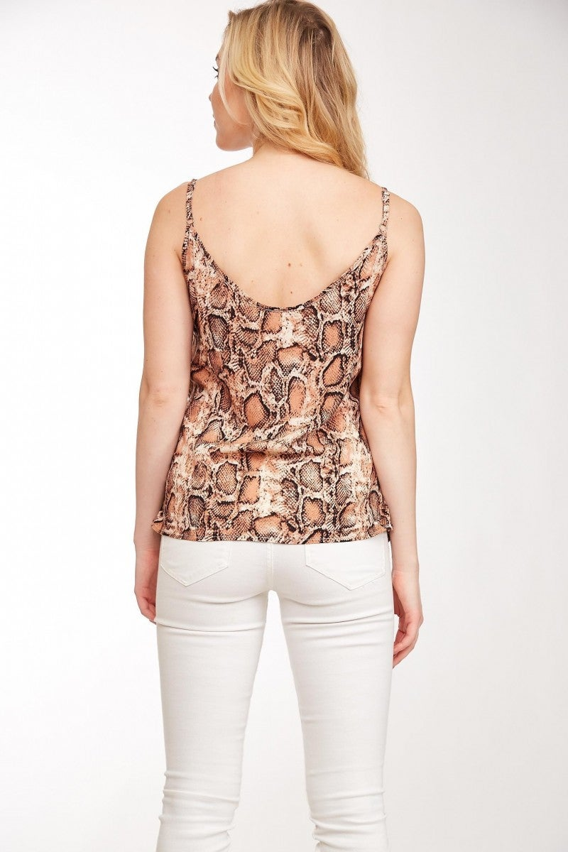 Snake Print Cami All Sizes by LLove