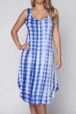 Tie Dye Swing Dress