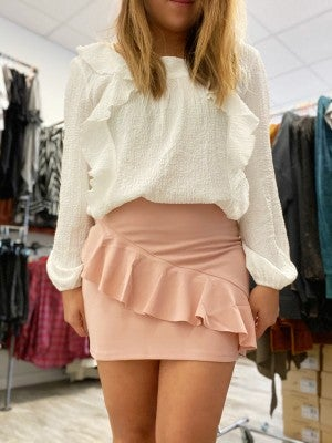 Pink Skirt by She + Sky