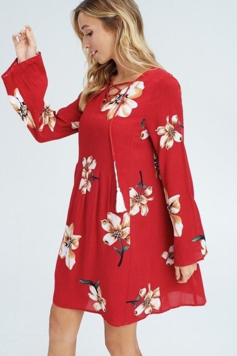 Aubree Floral Dress (2 Colors)