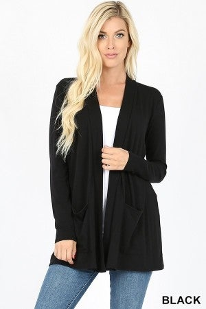Open Loose Cardigan (All Sizes, multiple colors)