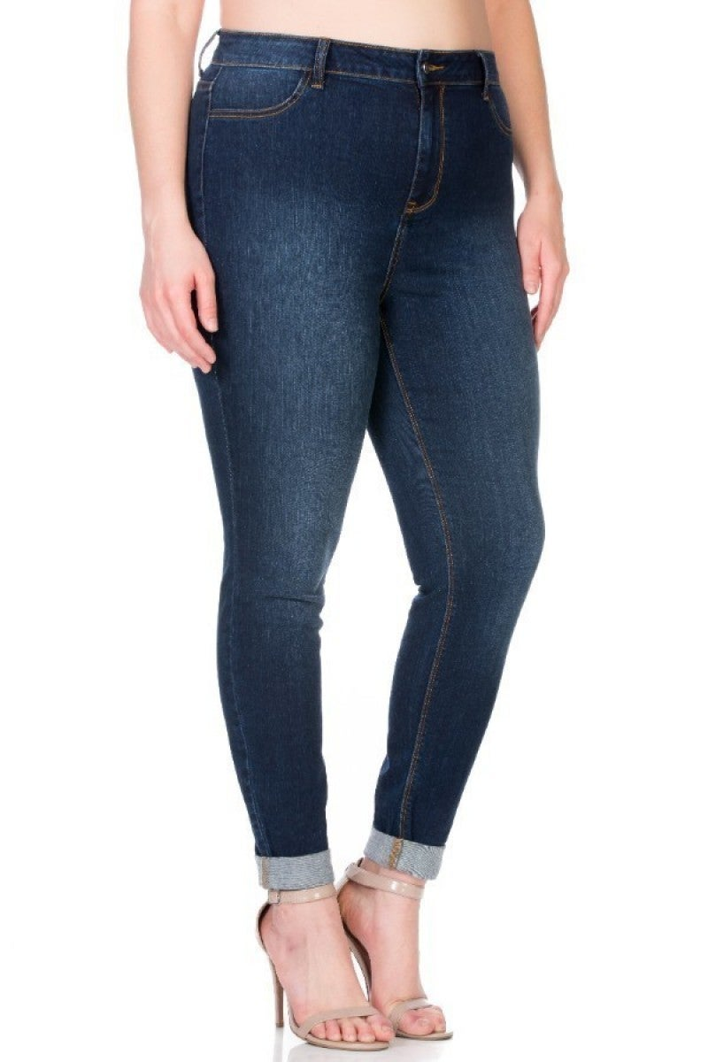 High-Rise Non-Distressed Skinny by Cello *Final Sale*