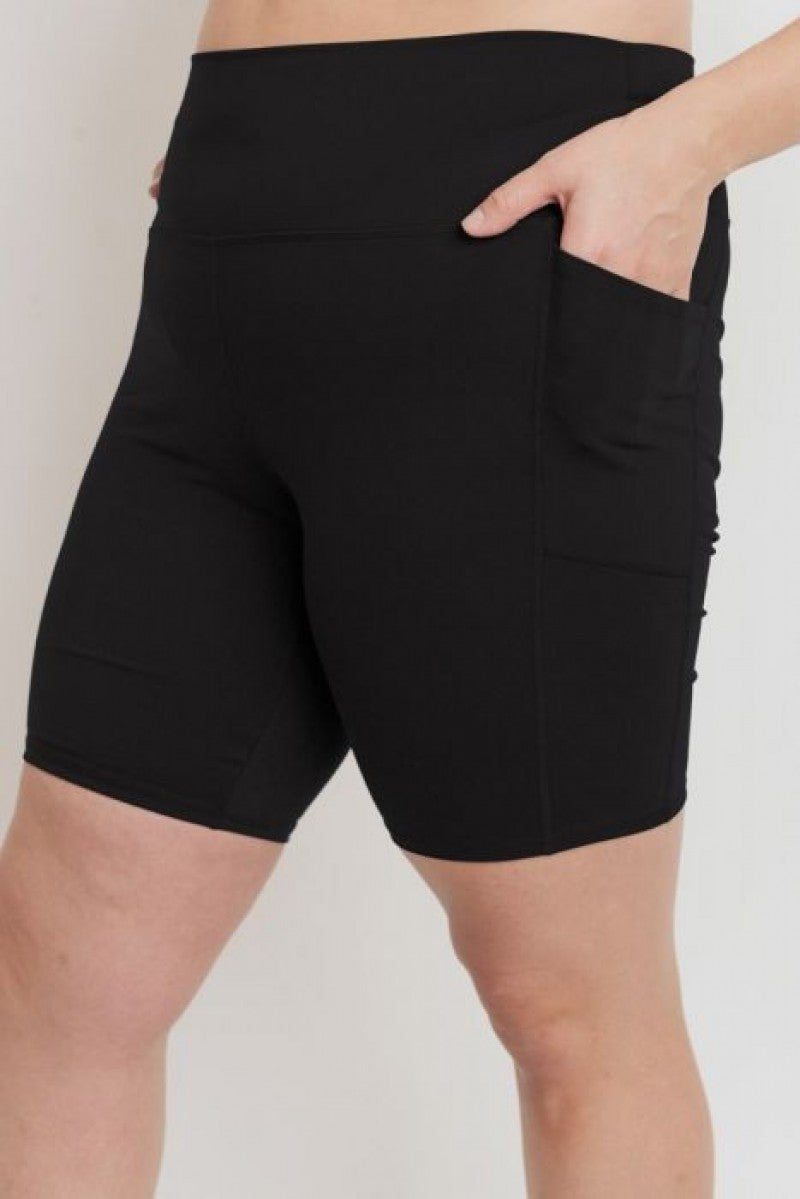 Rider Bermuda Style Short with Pockets by Mono B (All Sizes)