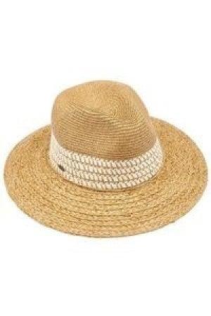 Sunny Days paper straw cc hat