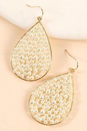 Tear Drop Pearl Earring