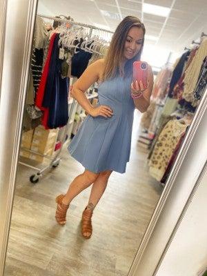 Peplum Dress by She + Sky