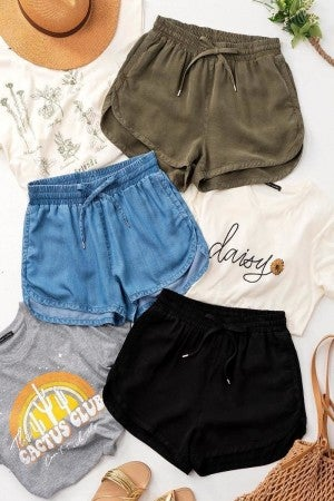 Draw String Shorts (Multiple Colors)