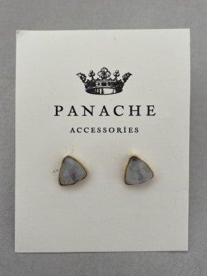 Triangle gemstone stub by panache