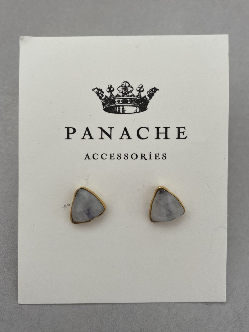 Triangle gemstone stub by panache