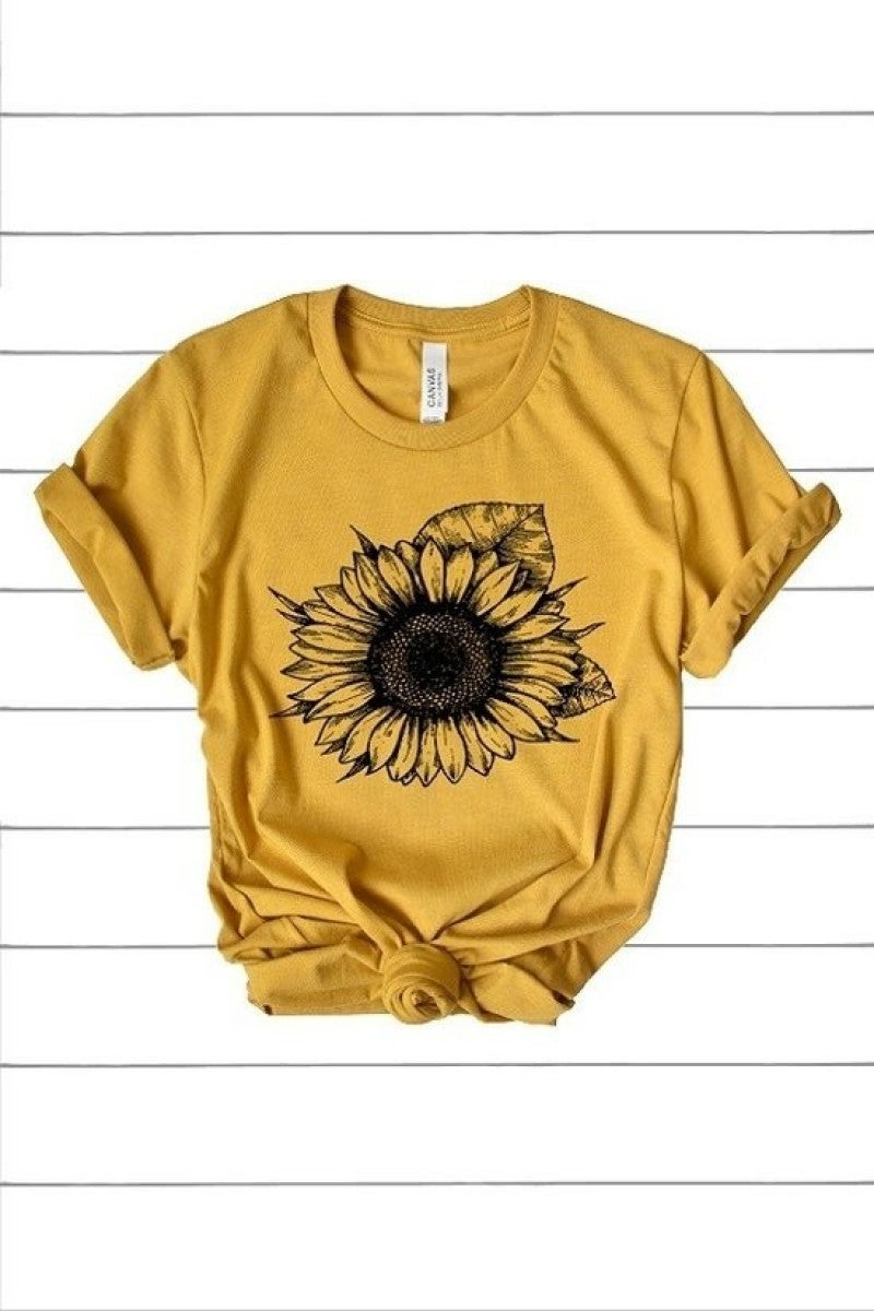 Sunflower Tee (All Sizes)