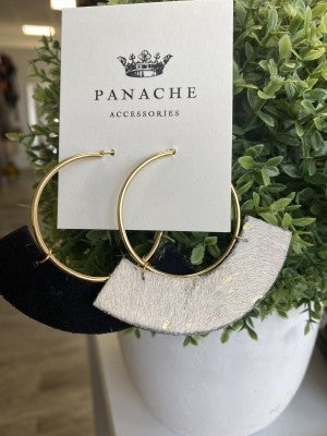 Gold Dust Hoops by Panache