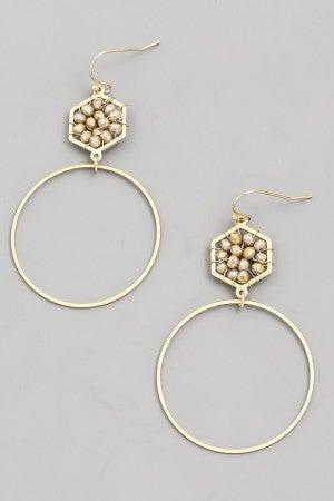 Gold Dangle Earring