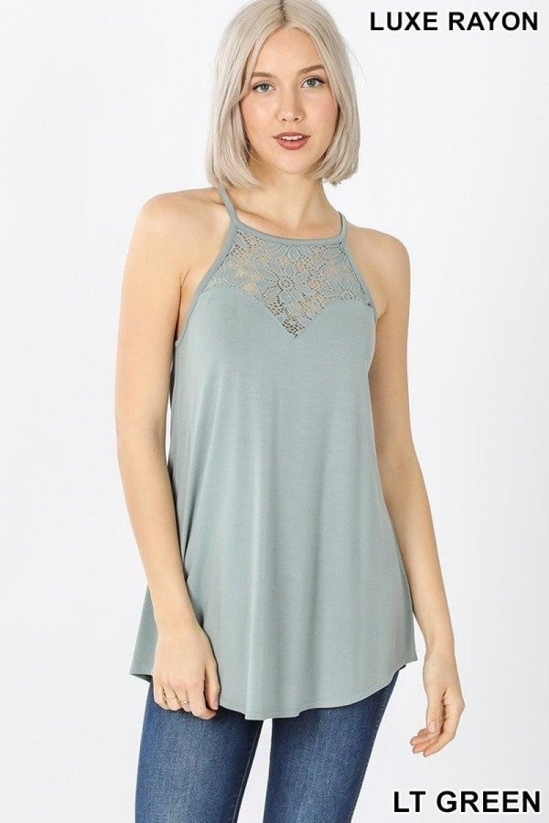 Lace Tank(multiply colors)