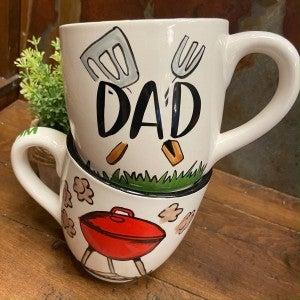 Dad Grilling Mug