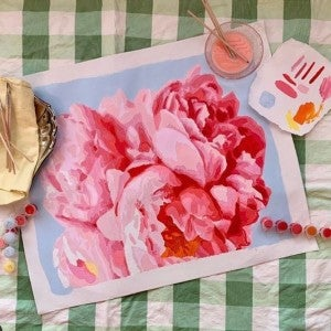 Perfect Petals Paint by Number