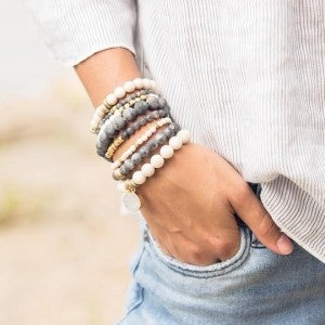 Fossil Jasper Create Adventure Bracelet from $25