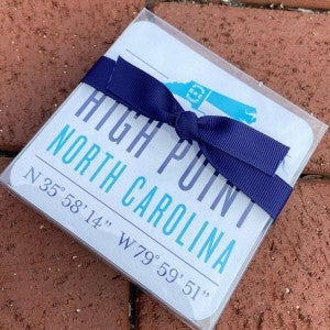 High Point Boxed Coaster Set