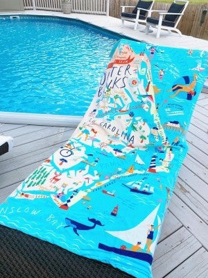 Outer Banks Beach Towel