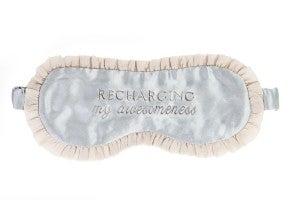 Sleep Mask/Recharging