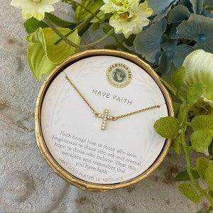 Spartina Have Faith Necklace