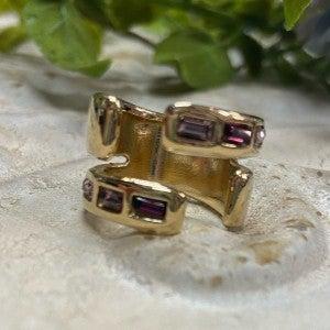Nightbird Wrap Gold Ring
