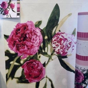 Fantastic Fuchsia Paint by Numbers