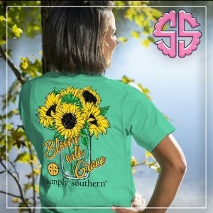 Simply Southern/Sunflower Tee