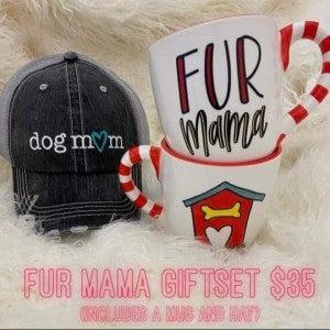 Fur Mama Mug & Hat Set