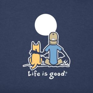 Men's Jake and Rocket Moon Crusher T-Shirt