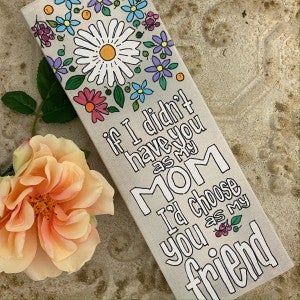 Glory Haus Floral Mom Canvas
