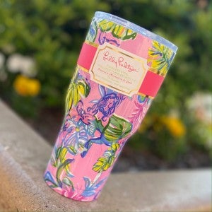 Lilly Pulitzer Mermaid in the Shade Tumbler