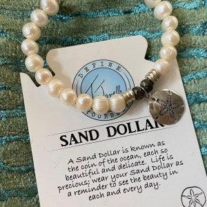 Sand Dollar Bracelet T.Jazelle