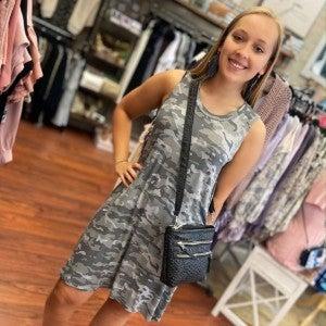 Maya Swing Dress Mudpie