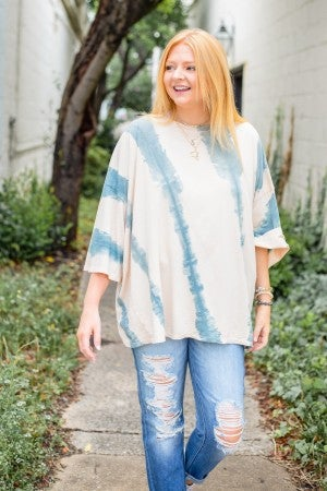 Sunset Talks Tie Dye Top