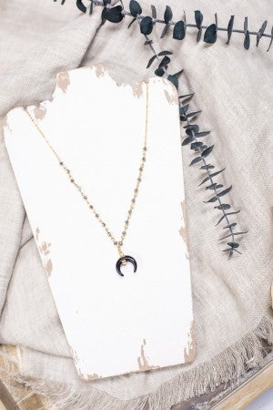 Just a Little Edgy Necklace
