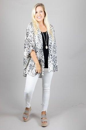 Wildly Styled Kimono