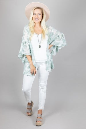 Hope Blooms Floral Kimono