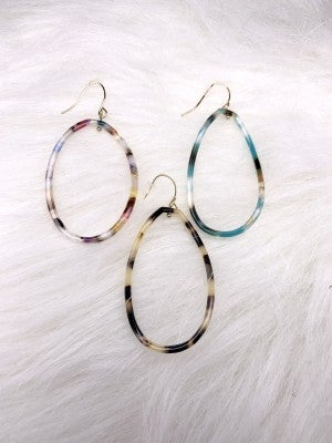 Acrylic Drop Earrings