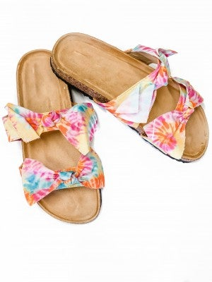 The Sophie Sandals Tiedye