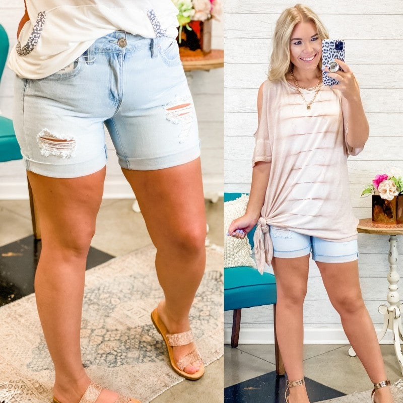 The Olivia Shorts Light