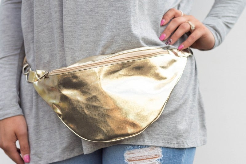 - Good As Gold Fanny Pack